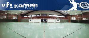 Handball - 1. Heimspieltag - Saisoneröffnungsfeier @ Koppelteichhalle Kamen | Kamen | Nordrhein-Westfalen | Deutschland