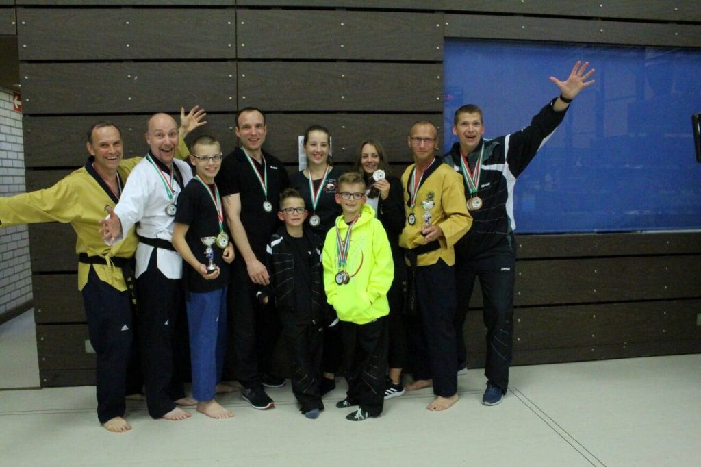 Taekwondo - 6 Landesmeistertitel mit 13 Sportlern