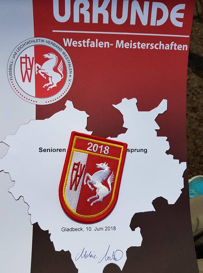 Leichtathletik - Fünf Titel bei den Westfälischen Senioren Meisterschaften in Gladbeck