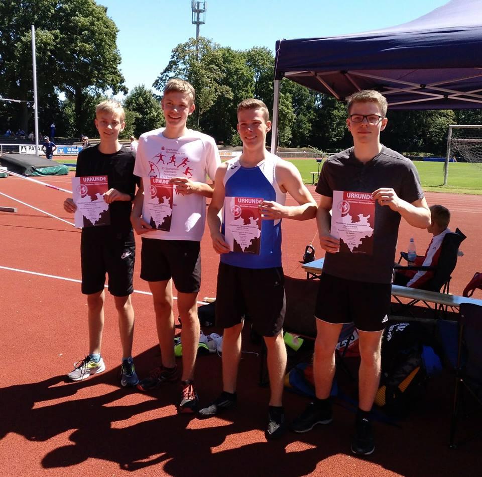 Leichtathletik - Westfälische Jugendmeisterschaften Rheine