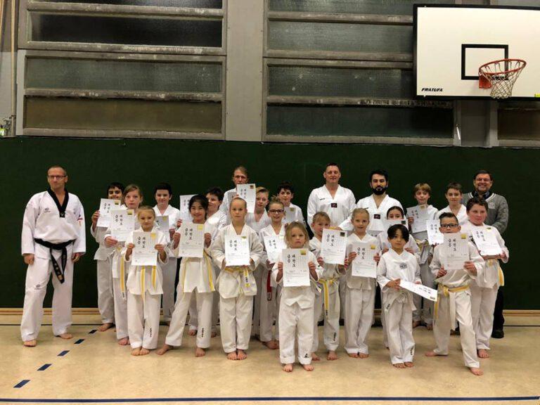 Taekwondo - Letzte Kup-Prüfung 2018