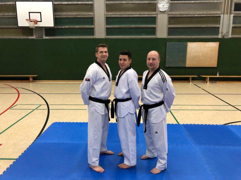 Taekwondo - Zur Sichtung für den Kader eingeladen