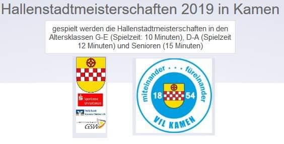 Fußball - Hallenstadtmeisterschaften