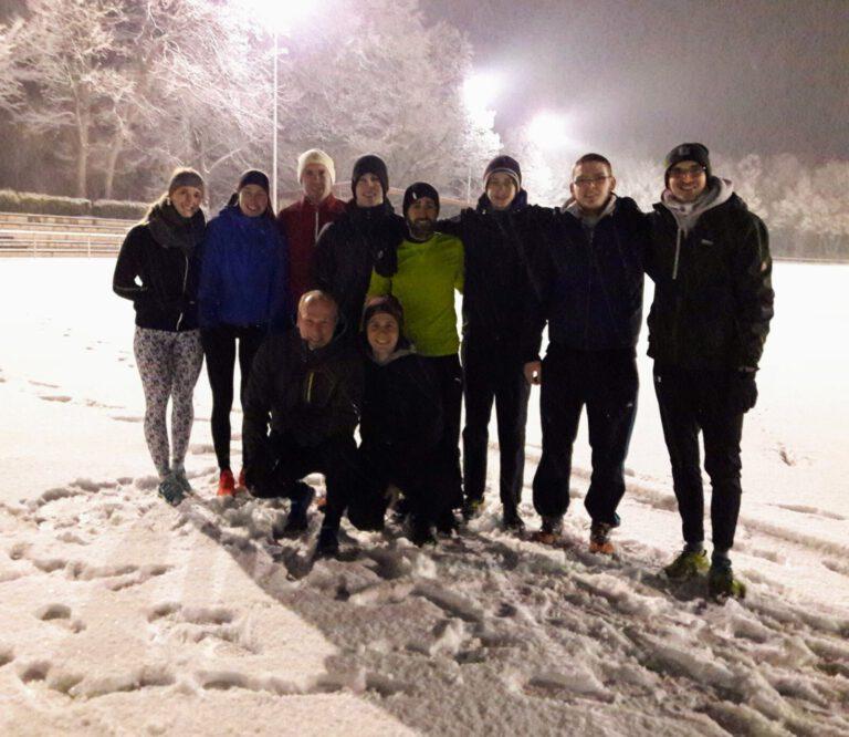 Leichtathletik - Wir trainieren bei jedem Wetter!