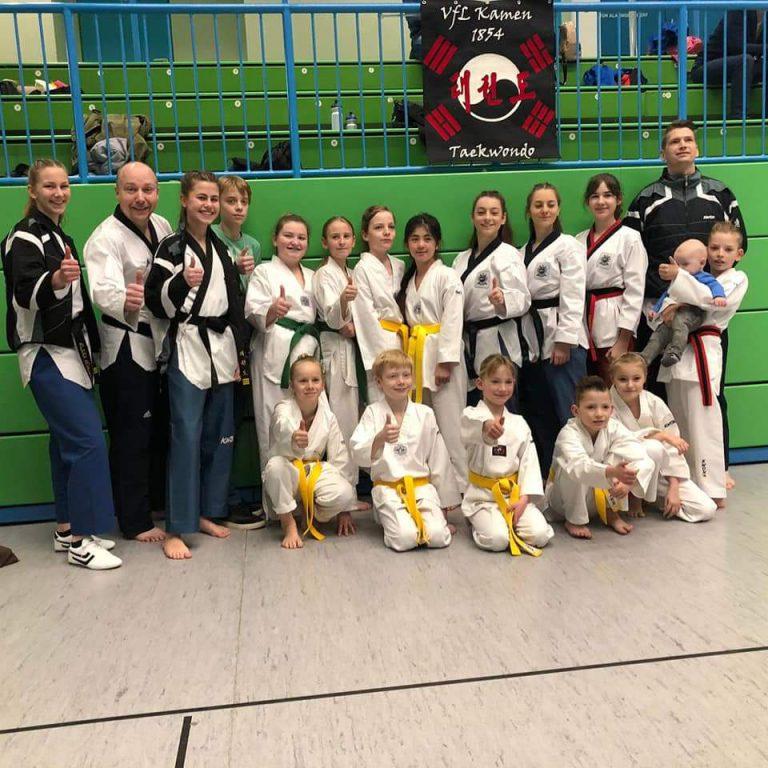 Taekwondo - Newcomer-Cup NWTU-Technik